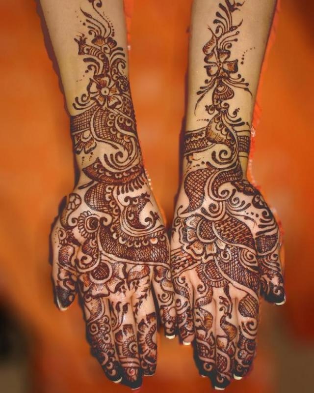 tatuajes henna india tradicional bodas mujeres 13