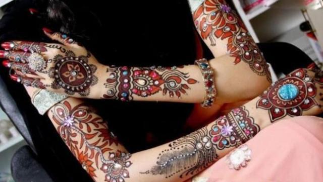 tatuajes henna india tradicional bodas mujeres 14
