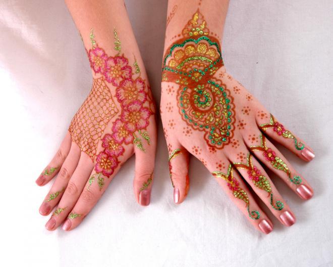 tatuajes henna india tradicional bodas mujeres 15