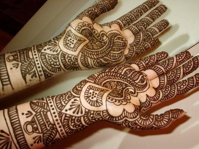 tatuajes henna india tradicional bodas mujeres 3