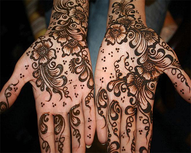 tatuajes henna india tradicional bodas mujeres 4