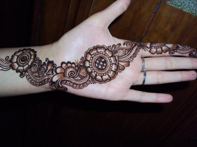 tatuajes henna india tradicional bodas mujeres 8 floral