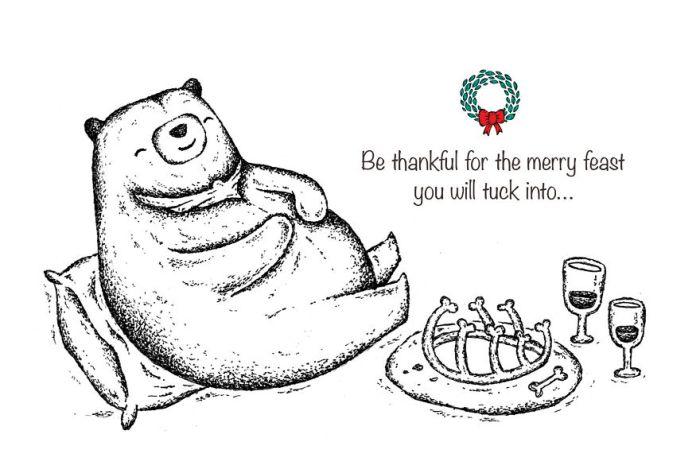 tarjetas de navidad minimalistas 7