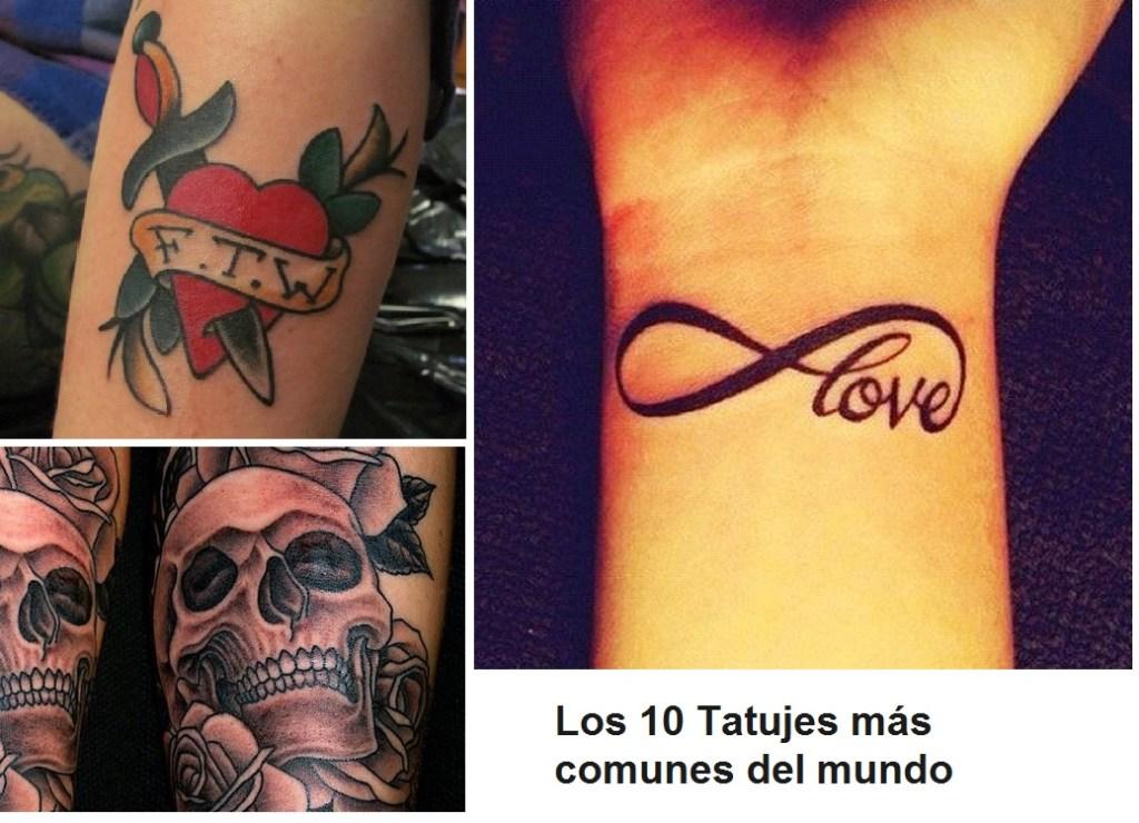 Estos Son Los 10 Tatuajes Más Comunes Del Mundo Arte Feed
