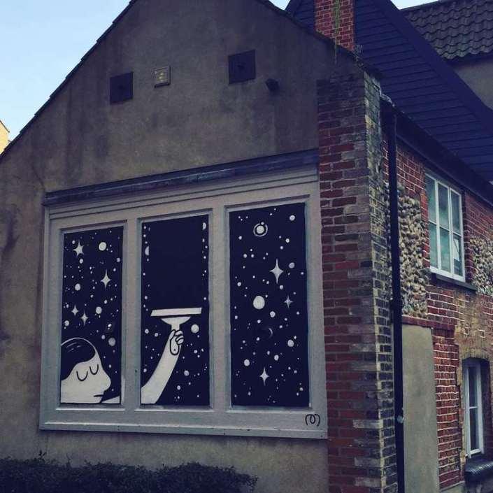 Divertidos murales callejeros de Muretz 10