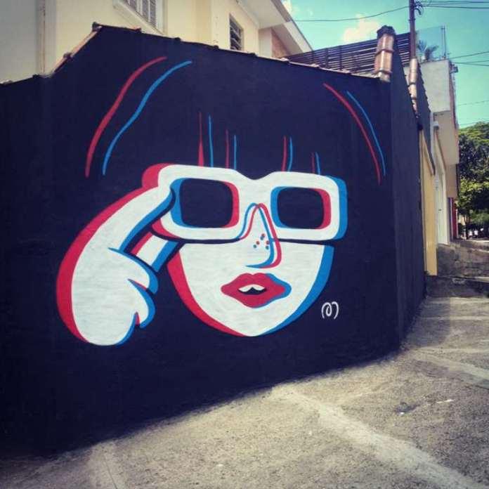Divertidos murales callejeros de Muretz 4