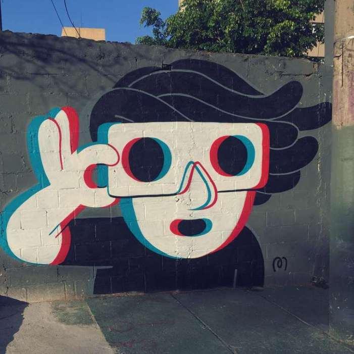 Divertidos murales callejeros de Muretz 7