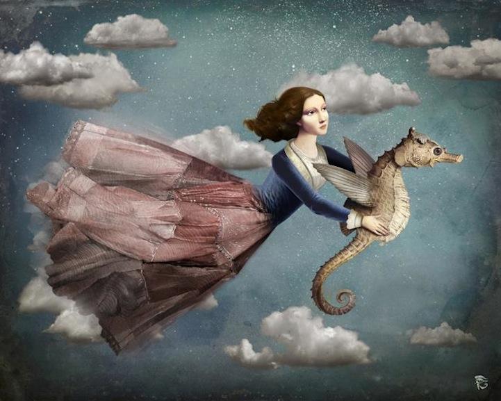 pinturas digitales surrealistas