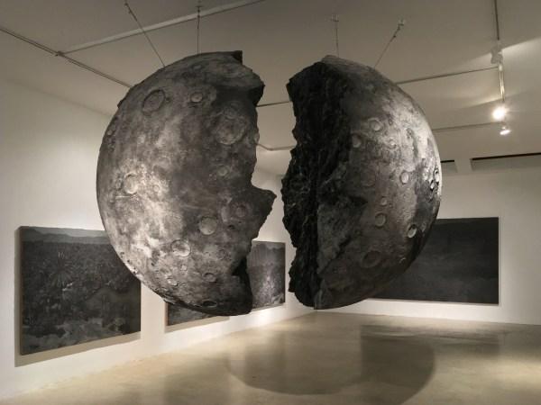 Saad Qureshi Moon Split Aicon - Arte Fuse Contemporary Art