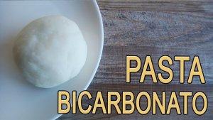 Pasta di bicarbonato, ricetta naturale e bellissima