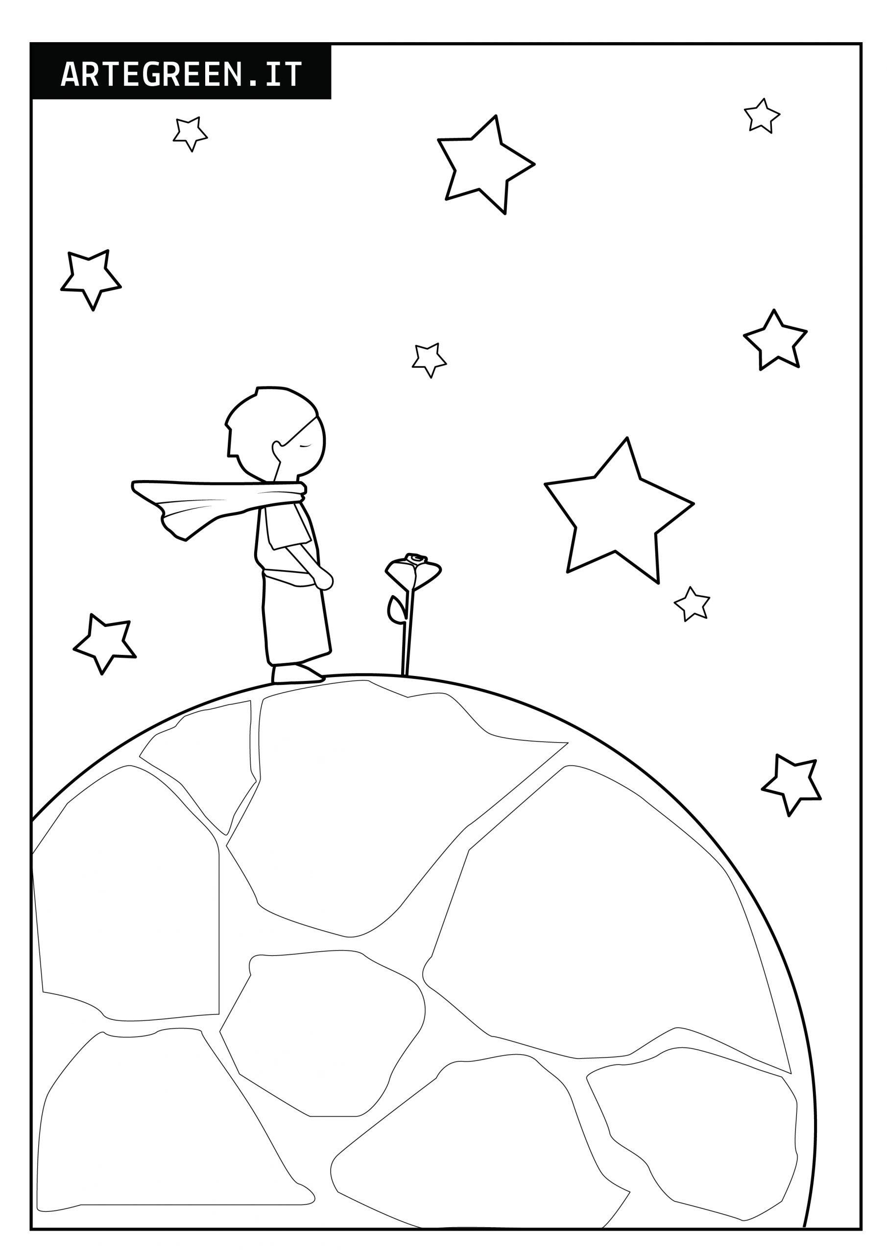 disegno piccolo principe