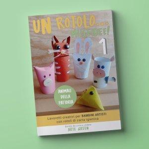 """""""ANIMALI DELLA FATTORIA"""" e-book della serie """"Un rotolo… mille idee!"""""""