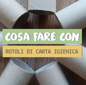 Rotoli carta igienica 5 lavoretti creativi