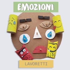 LAVORETTI emozioni riciclo creativo facili