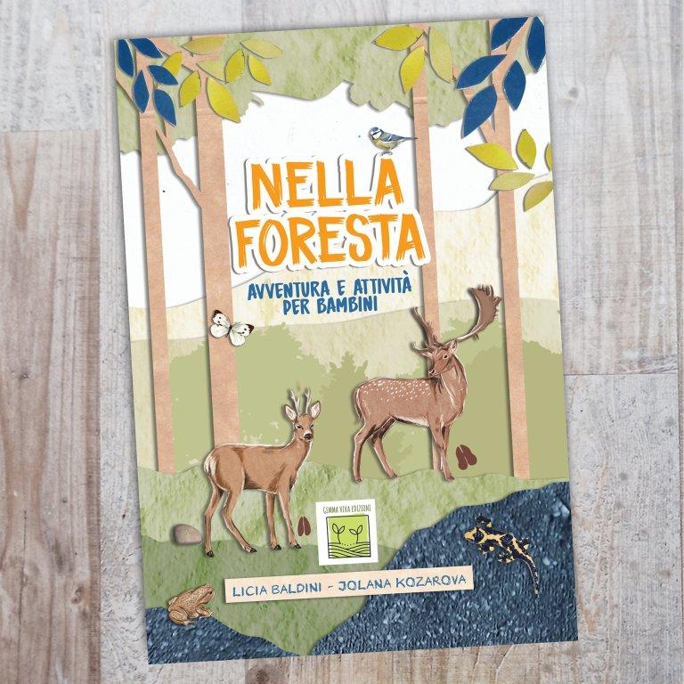 nella foresta libro bambini