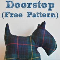 Fox Terrier Doorstop free pattern