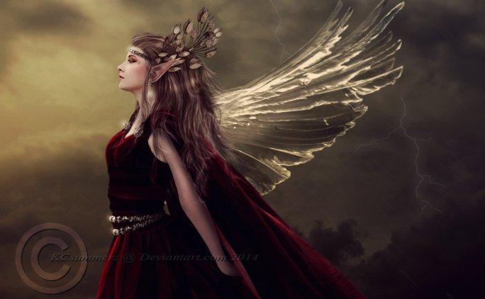 High elf queen