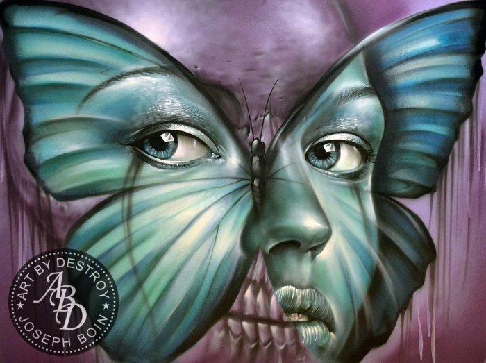 Street Art by Destroy