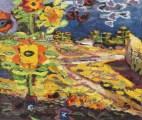 Ion Ţuculescu, Câmp cu floarea soarelui