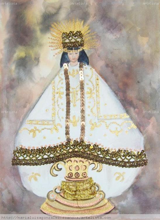Virgen de Juquila Maria Luisa Gonzalez Casanova  Artelistacom  en