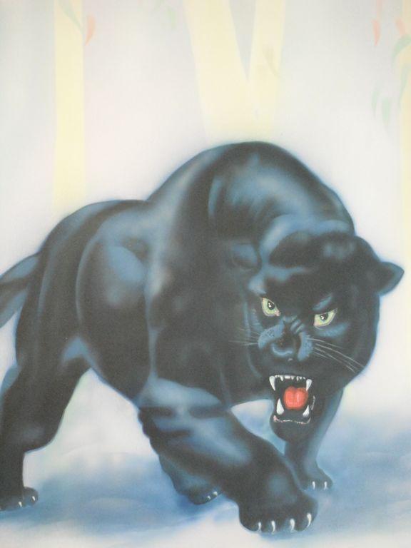 pantera negra josse manuel hernandez martinez  Artelista