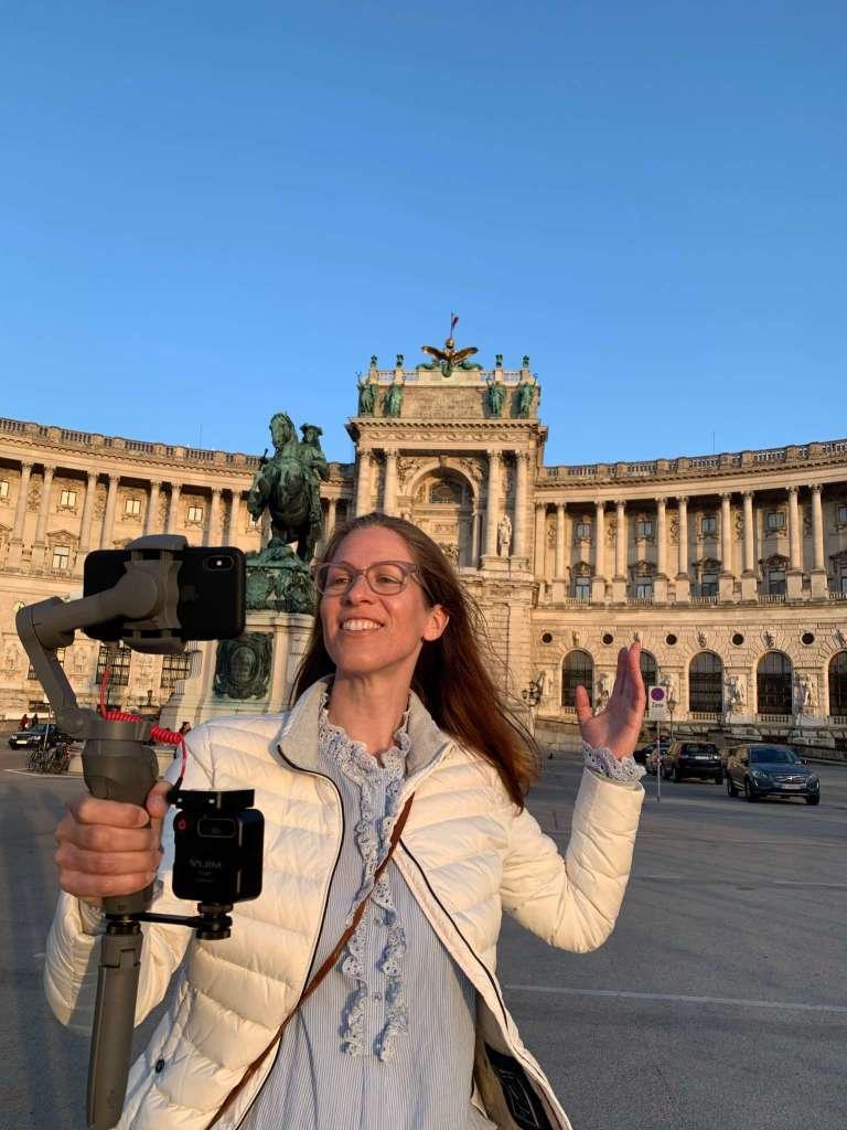 Virtuelle Wienführung am Heldenplatz