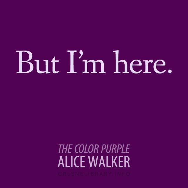The Color Purple Quotes and Page Numbers