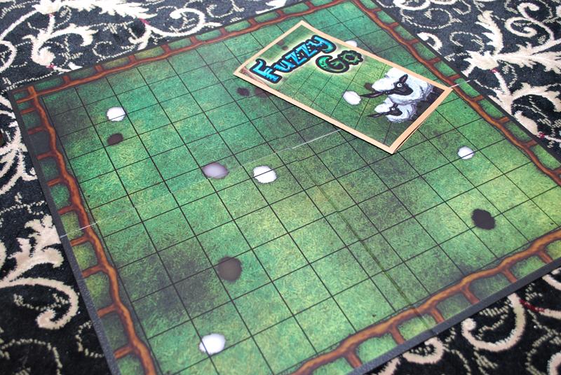 Game board and Rules again.