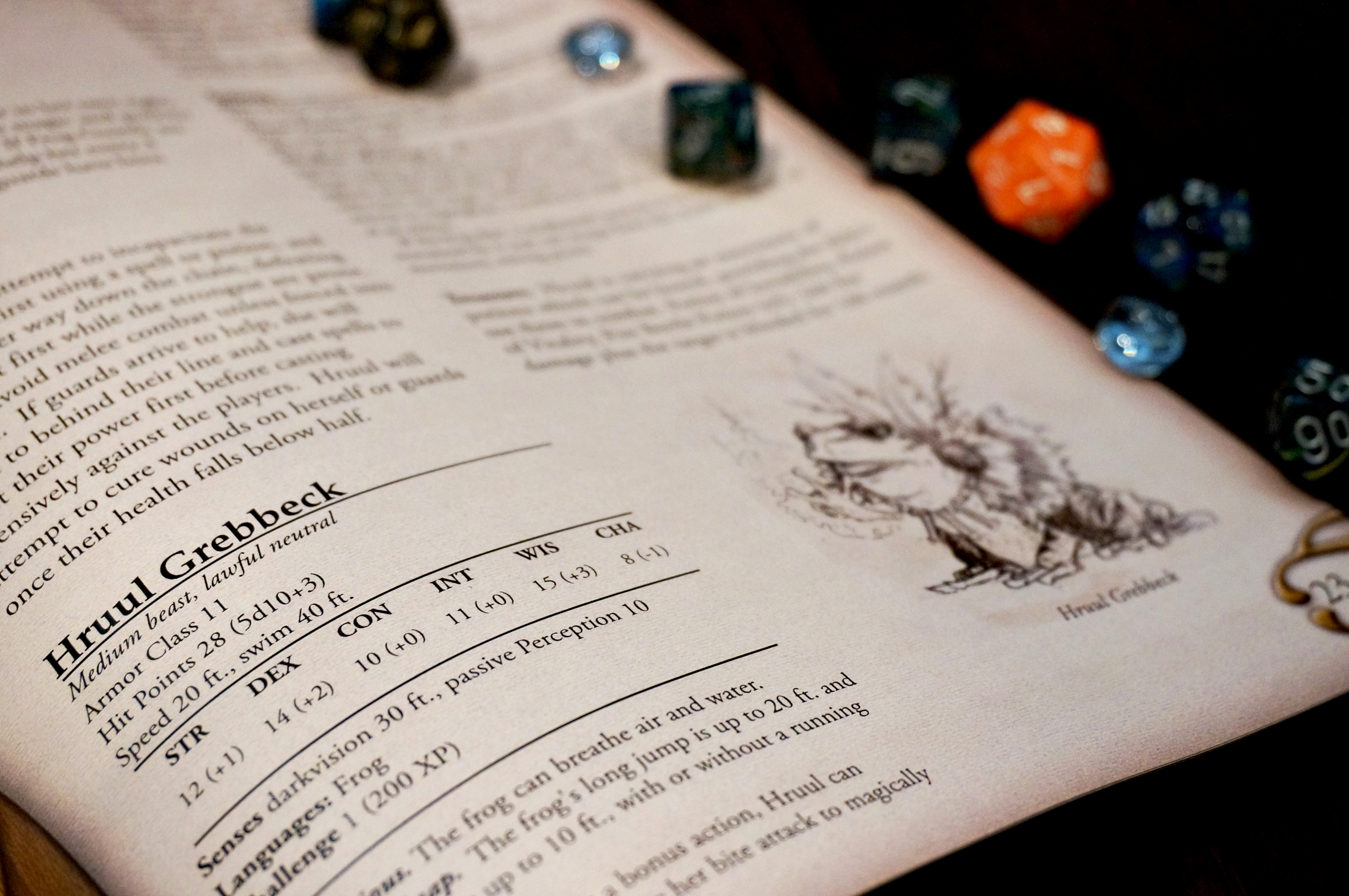Hruul's Encounter Page