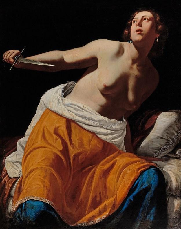 Artemisia Gentileschi, Lucretia