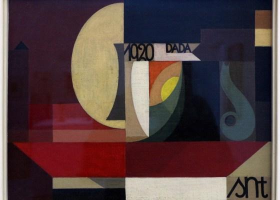 "Sophie Täuber-Arp, ""Dada-Komposition"", 1920"