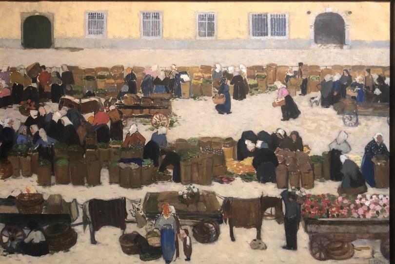 Stadt der Frauen, Broncia Koller-Pinell, Frühmarkt, 1910 (Foto: NiS)