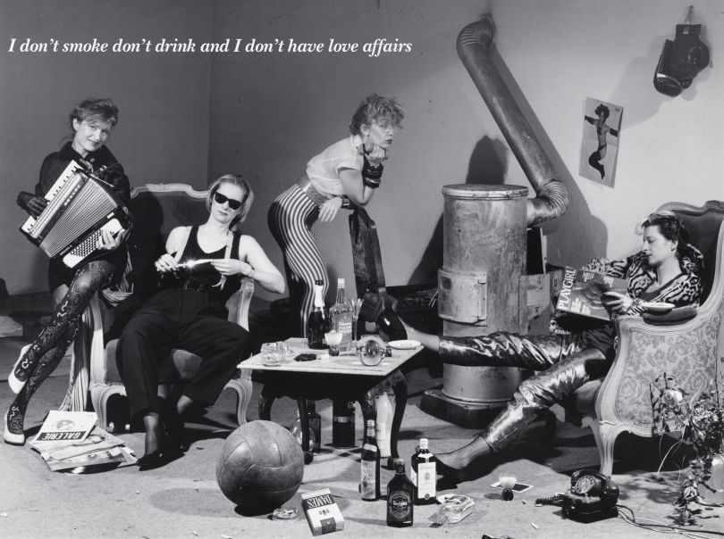 Künstlerinnenkollektive DIE DAMEN