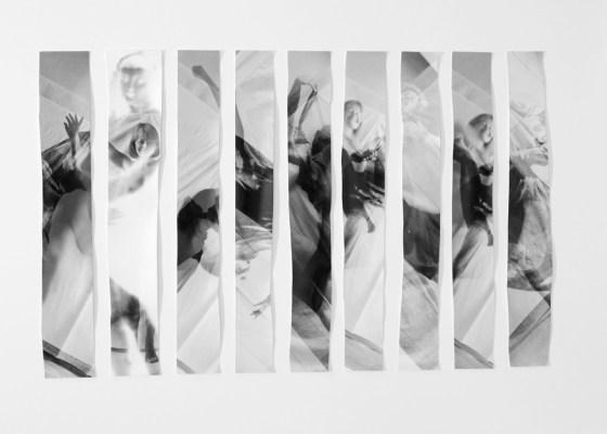 Orshi Drozdik, Individual Mythology - Free Dance (#6), 1975/76-2019, Foto: Galerie Knoll