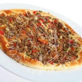 Πίτσα με κιμά για μακαρόνια