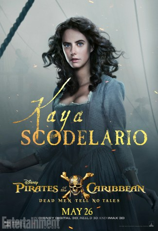 pirates des caraibes 5 - Kaya Scodelaro - Carina Smyth