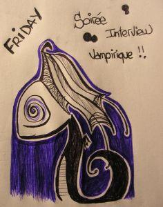 Affiche vampire de FlowPattz