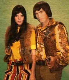 Alice et Edward  lors de leur soirée disco