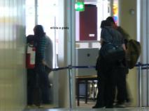 Kris et rob à l'aéroport