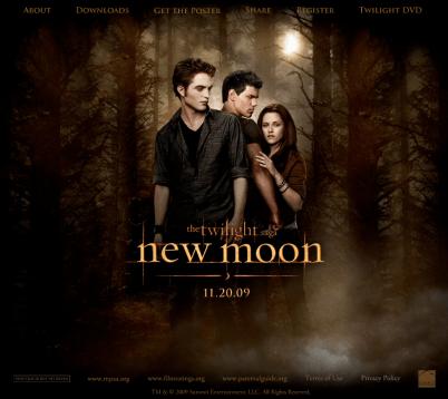 Le Site de New Moon