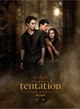 NEW MOON- TENTATION L'AFFICHE FRANCAISE