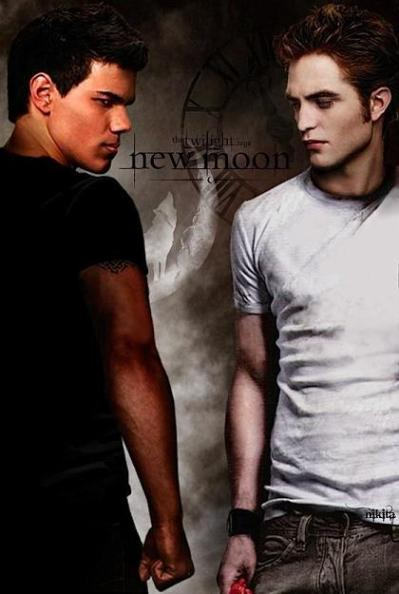 EDWARD CULLEN VS JACOB BLACK