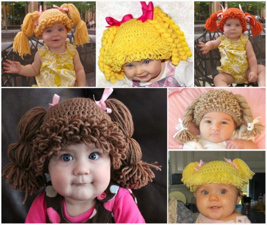 Cabbage-Patch-Crochet-Hat
