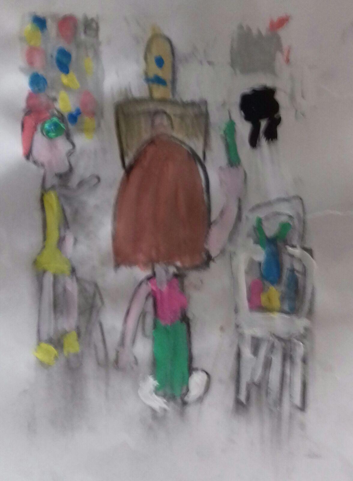 EXITO DEL CAMPUS DE VERANO…  ¿QUÉ FUE ANTES? … ¿ pintura o realidad?…. Encuentra los 7 errores…