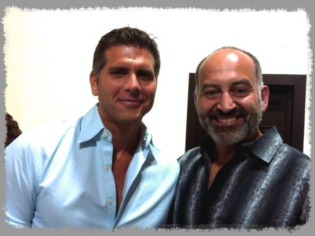 Alfredo con Christian Meier