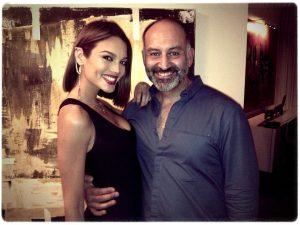 Alfredo con Zuleyka Rivera