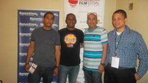 Danilo Arroyo, Francis Disla (El Indio), HLR y Eduardo Luna
