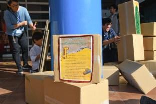 ダンボールで遊ぶコーナー(提供:ヌマセン株式会社様)