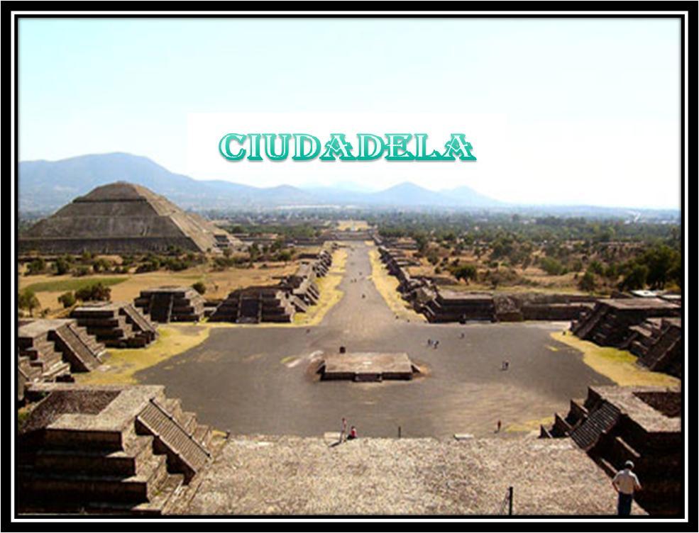 TEMA 02 Arquitectura Teotihuacana Historia Del Arte 2 Preparatoria