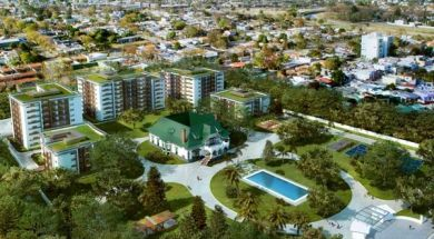 Town Park – Vista aerea
